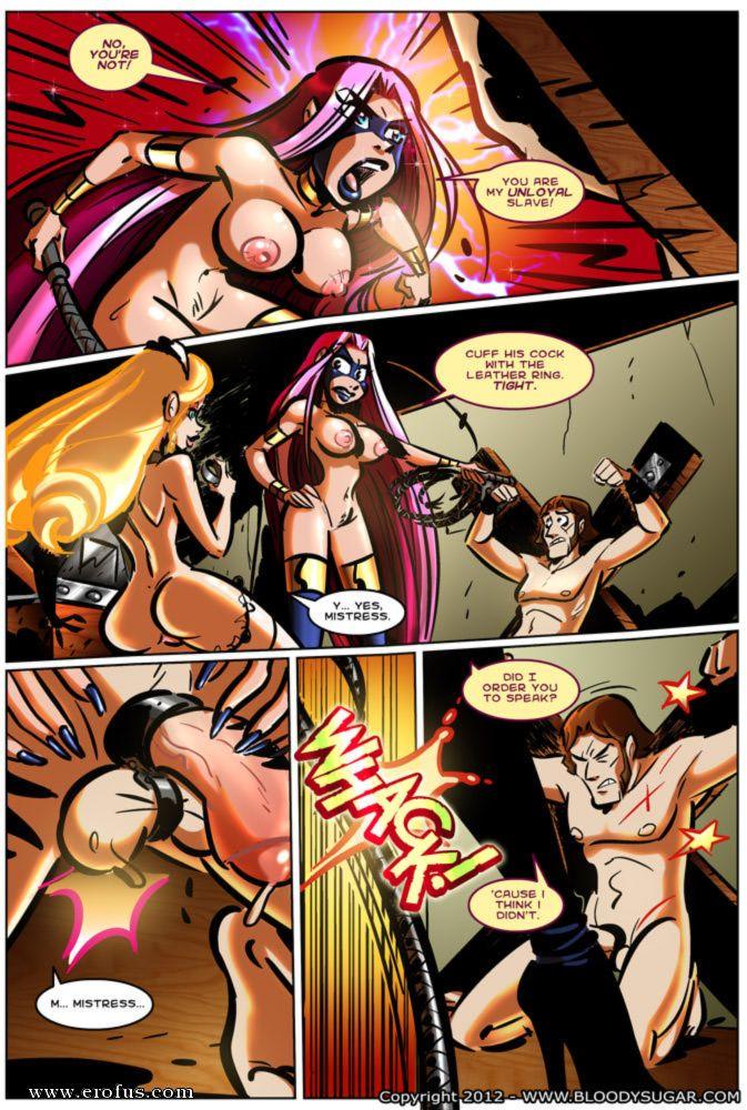 секс комиксы bloody sugar 8