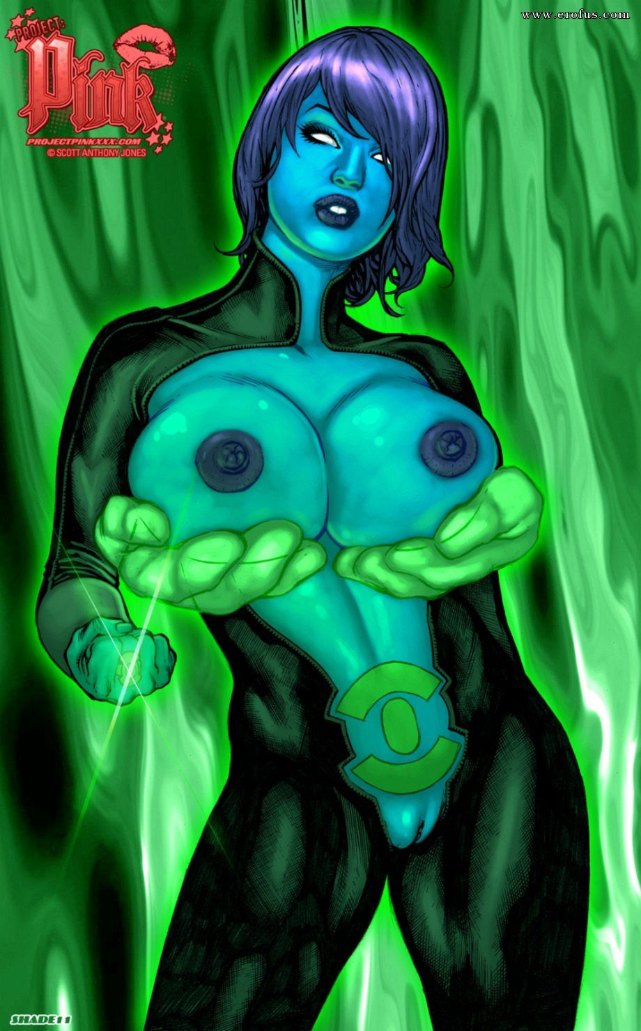 Green Lantern Aya Porn