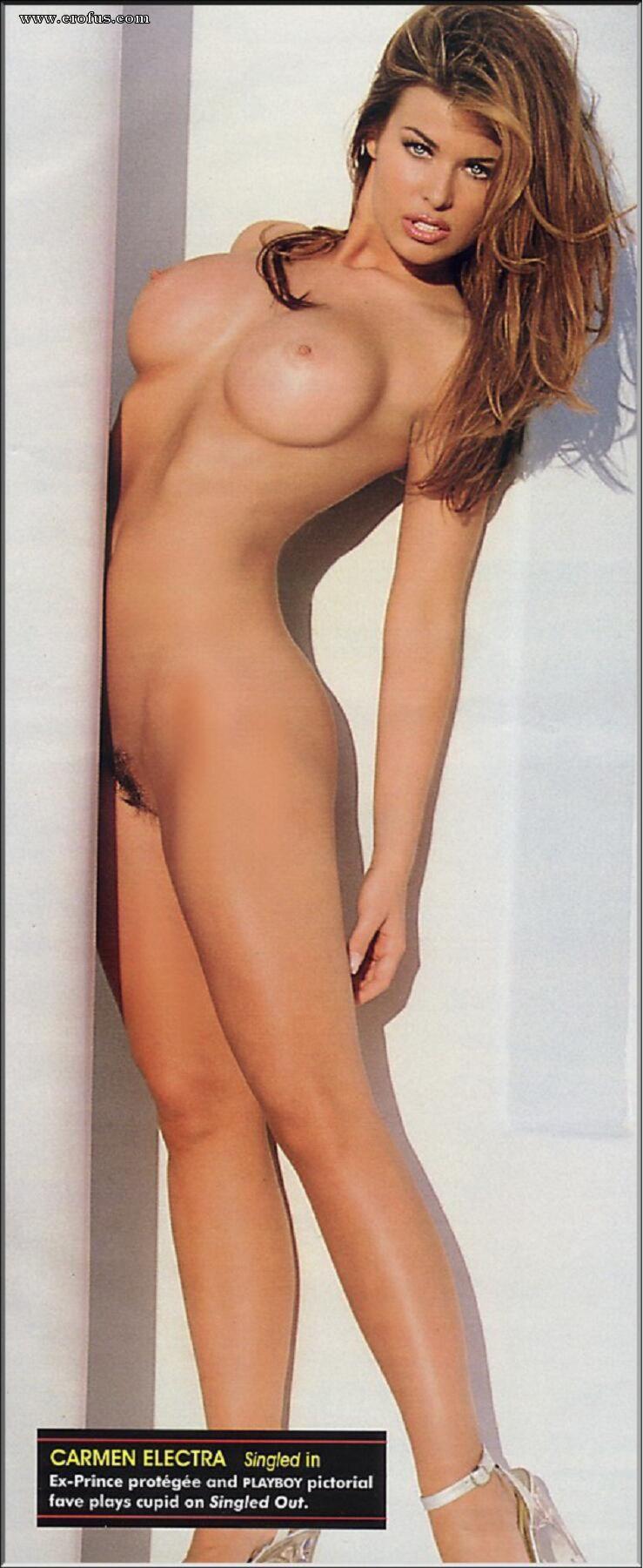 Carmen electra fake nude pics #3