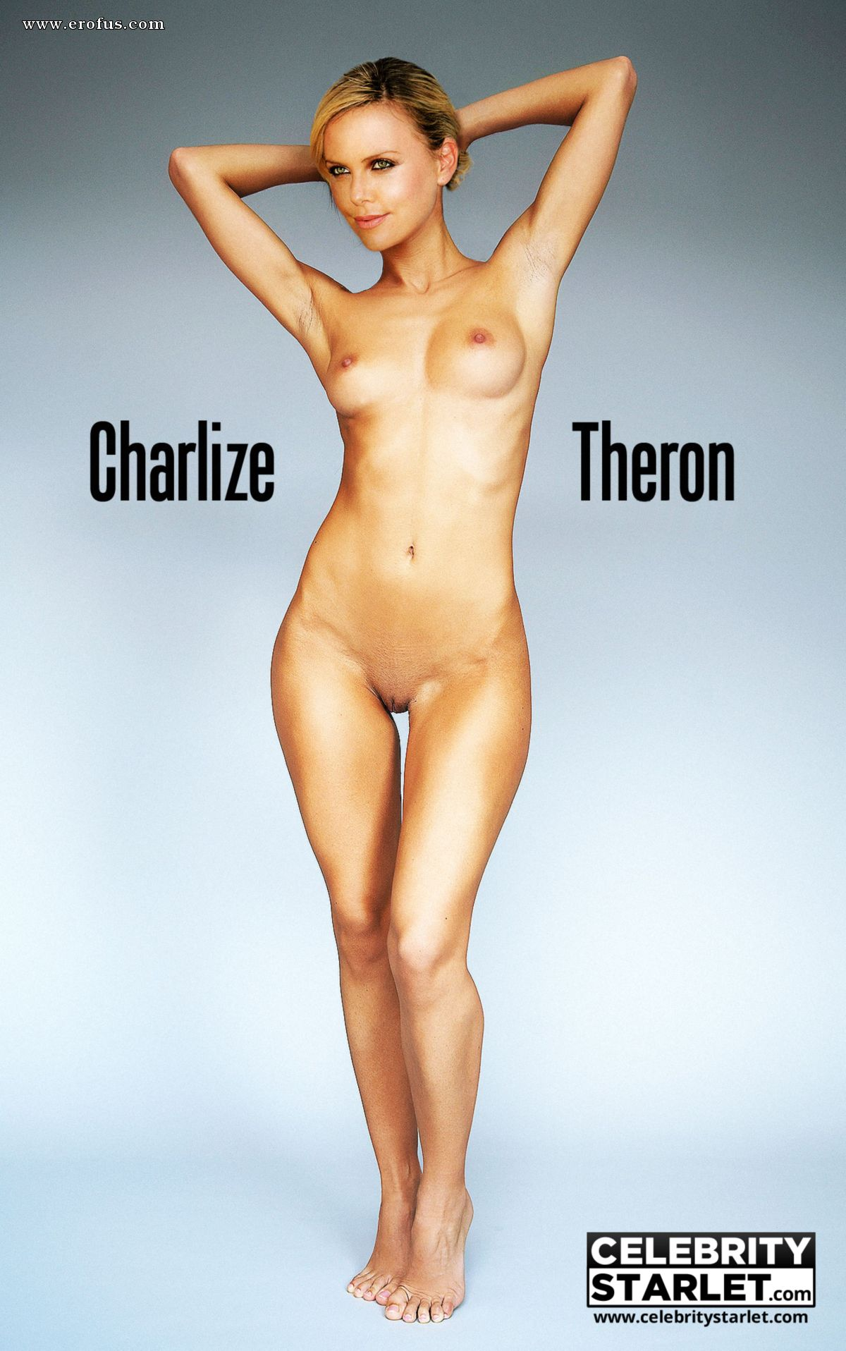 Charlize Theron Nude Playboy Playmate