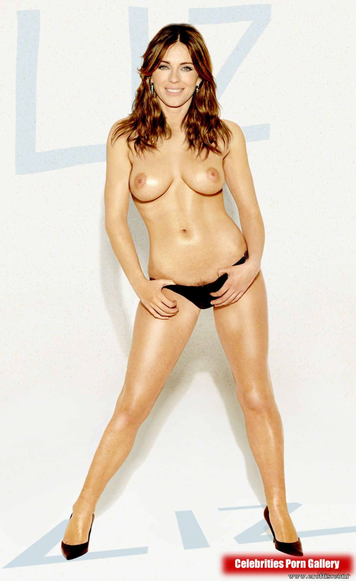 Elizabeth Hurley Nude Celebrity Pics