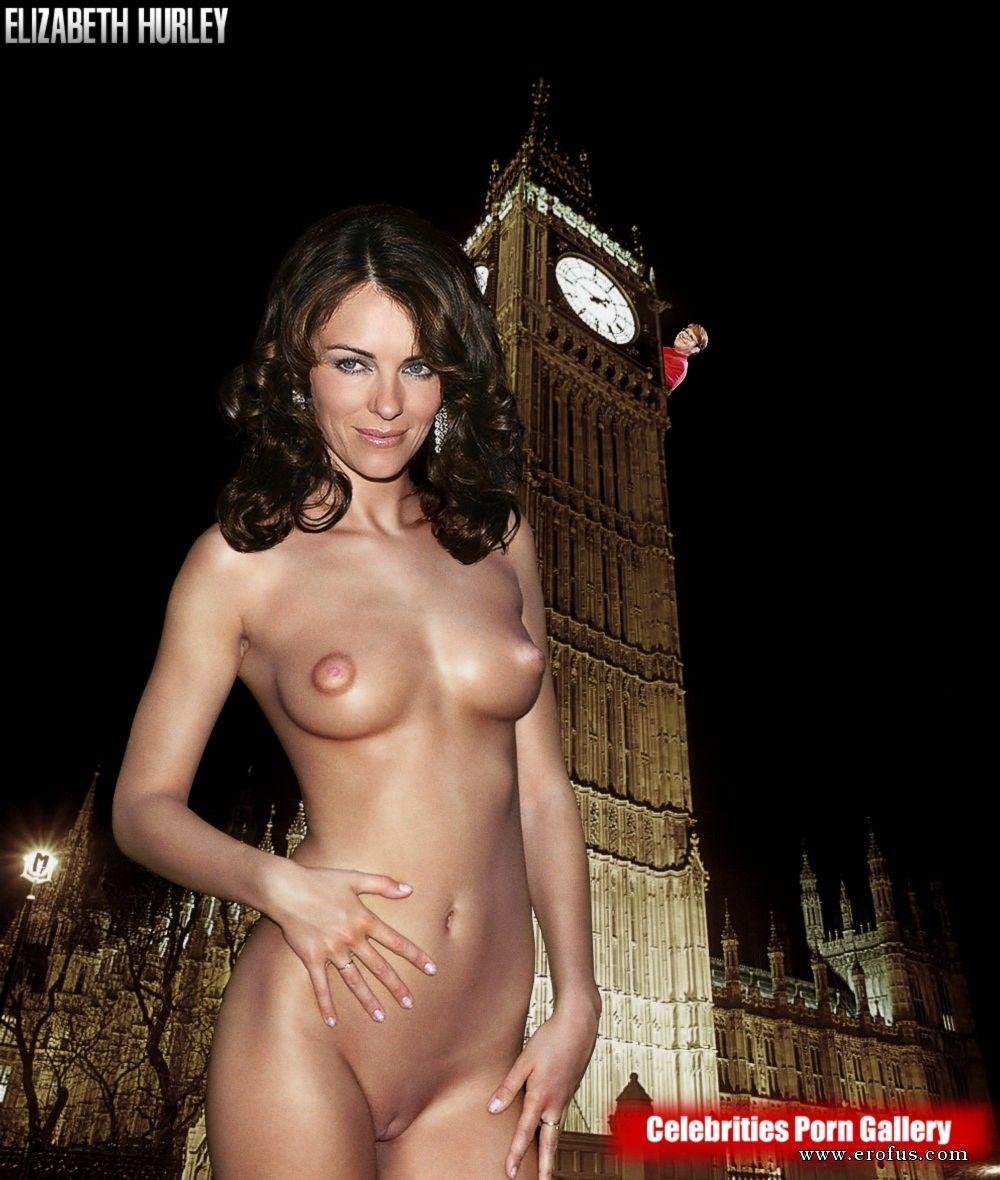 Elizabeth Hurley Nude Pussy