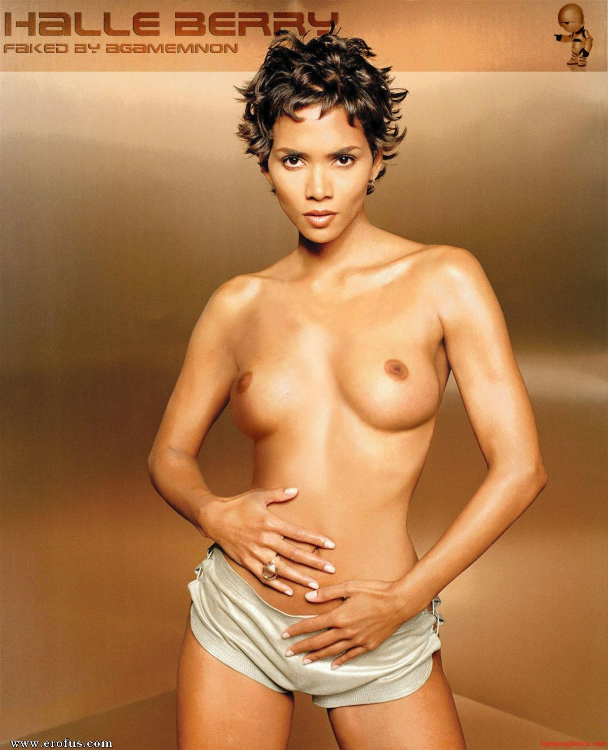 Halle berry big ass and naked photos