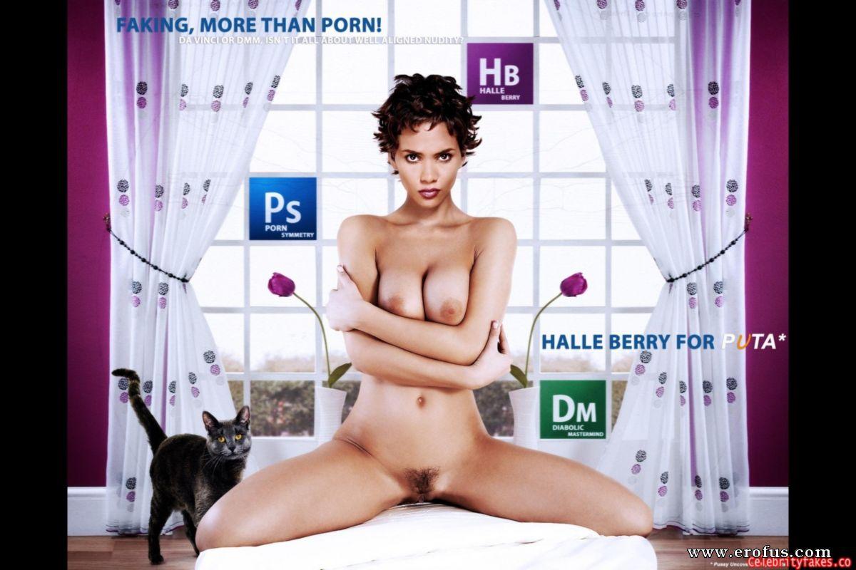 Celebrities halle berry fakes