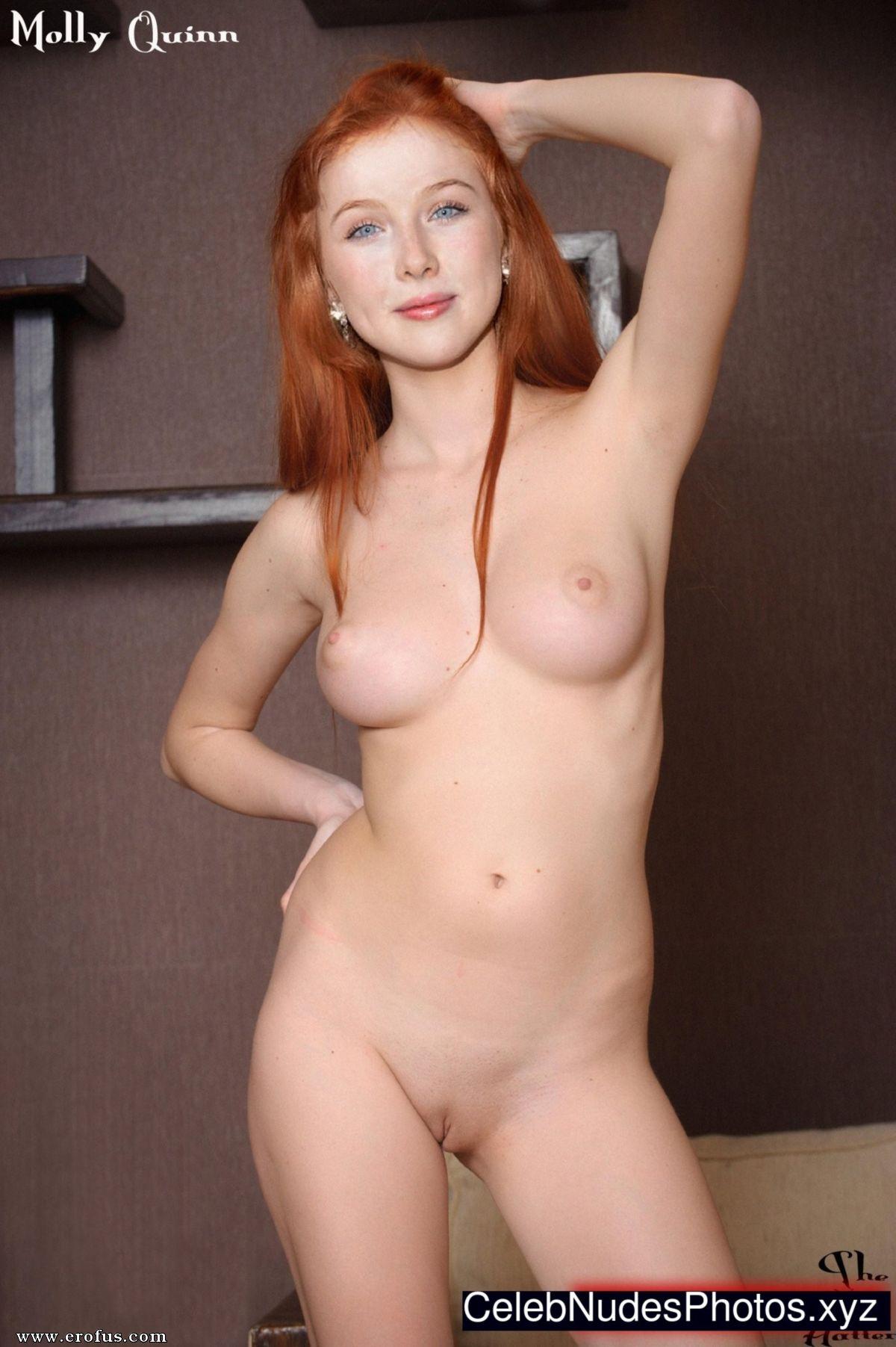 Molly quinn nude pics