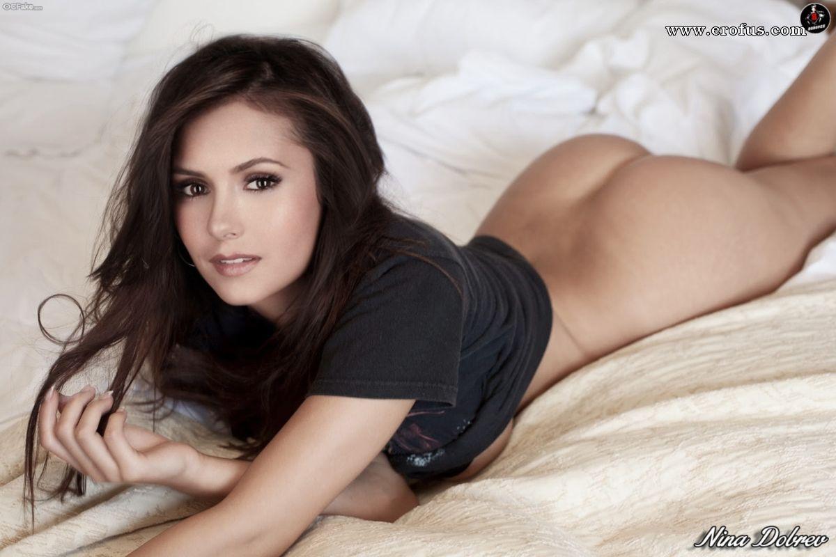 Nina Dobrev Naked Celebrities
