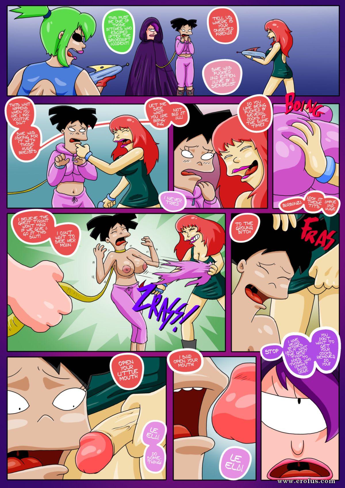 Futurama Cartoon Hentai page 7 | various-authors/bill-vicious/futurama-sextopia