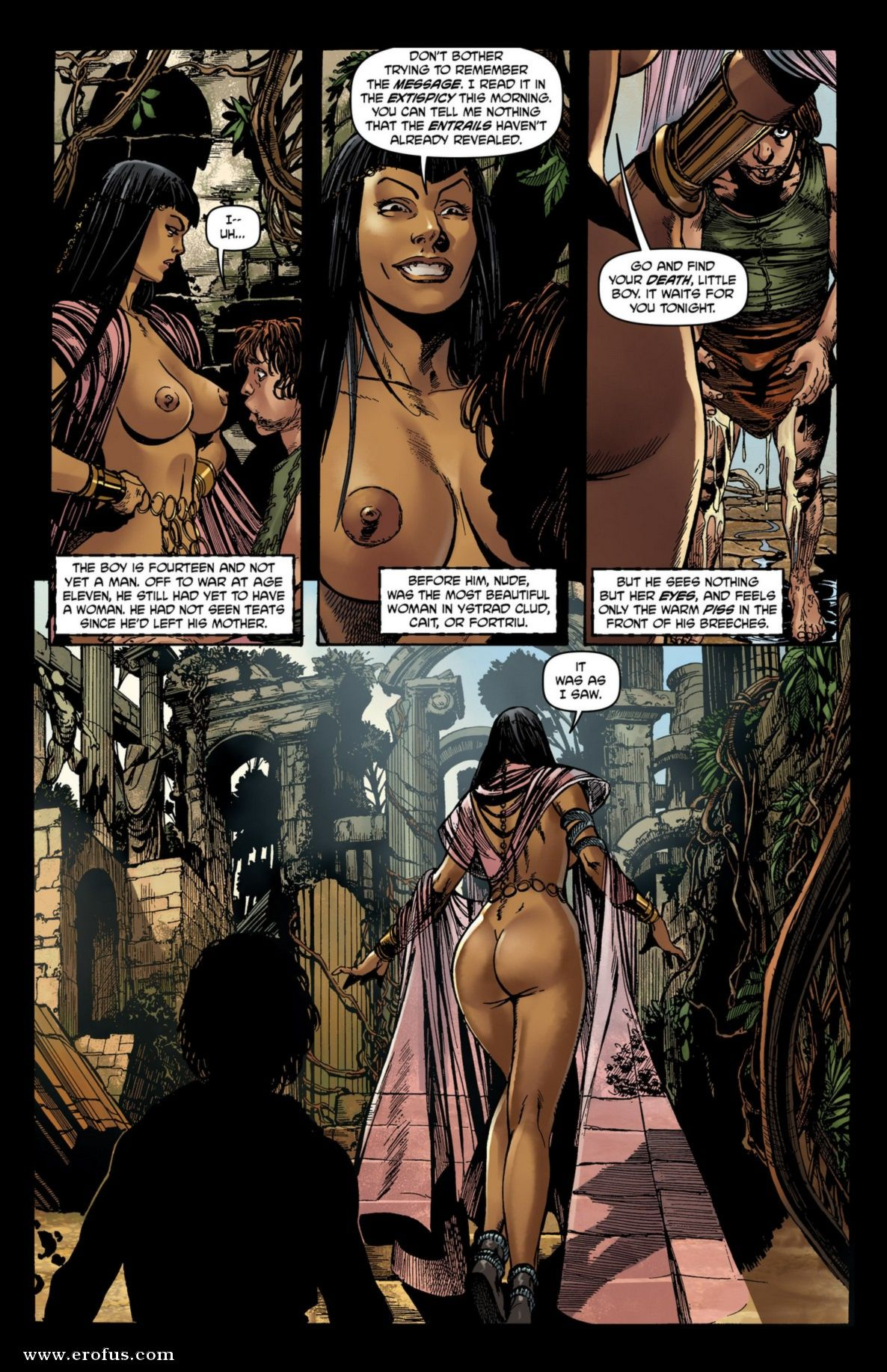 Nude Comic Porn page 11 | various-authors/boundless-comics/belladonna/issue