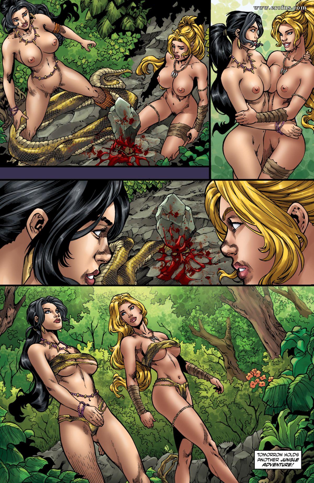 девушки фэнтези порно войны комиксы