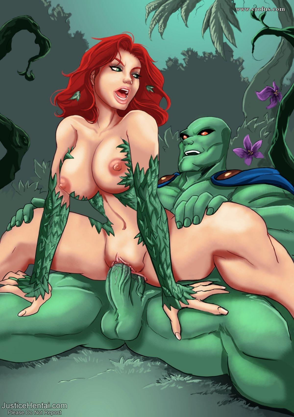 Зелёной жаркое порно мутантихой с