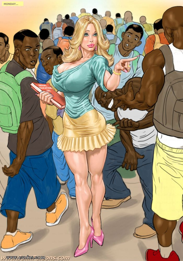 Prison story complete illustrated interracial
