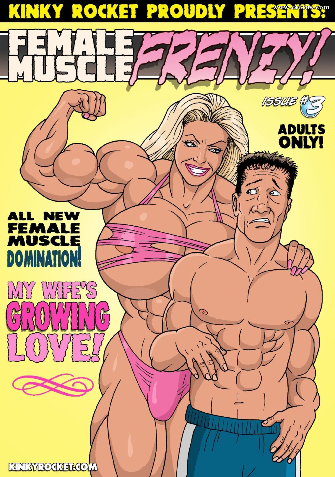 Muscle girl comic porno Page 1 Various Authors Free Comic Kinky Rocket Comix Female Muscle Frenzy Issue 3 Erofus Sex And Porn Comics