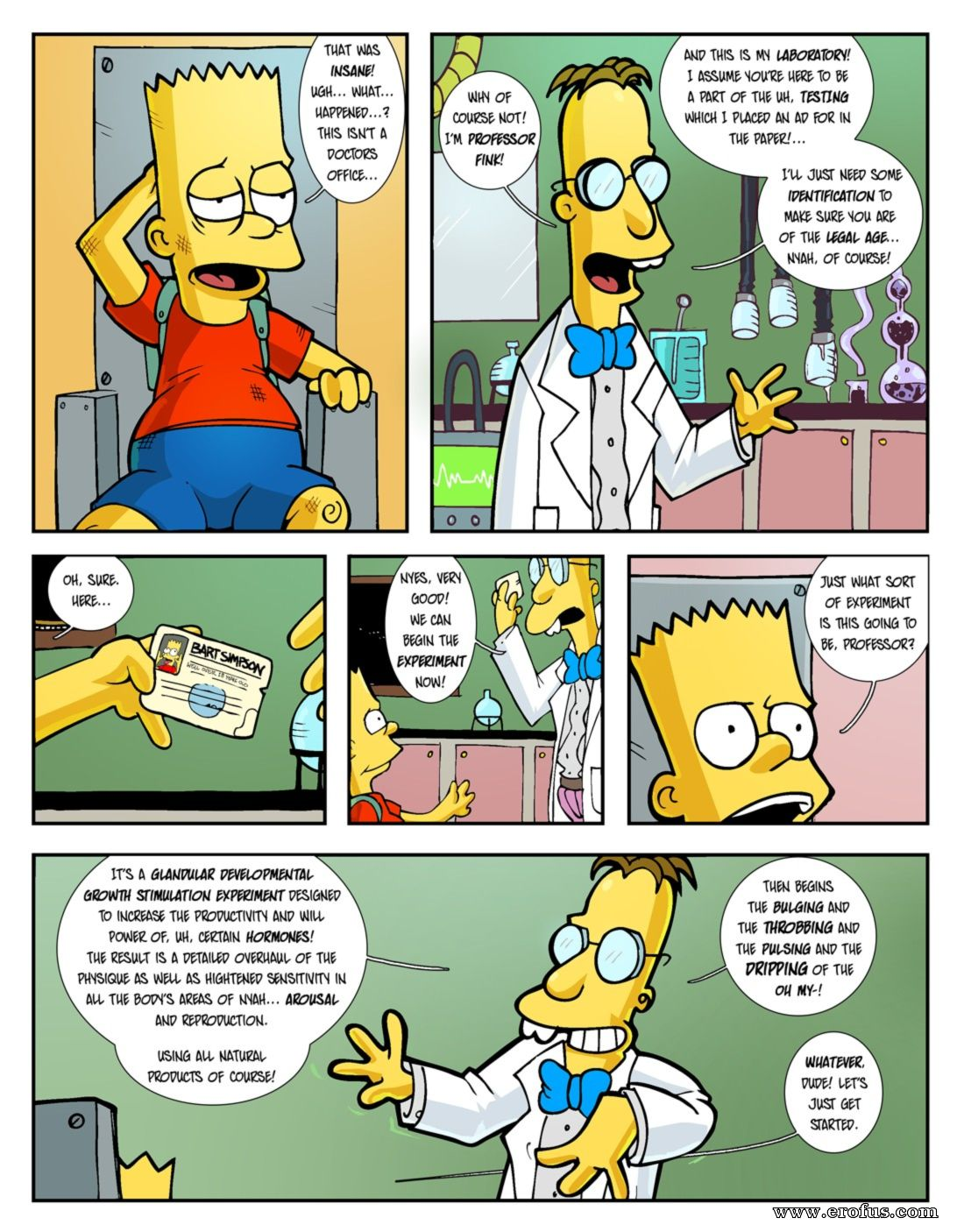 Hexamous the return of large marge the simpsons