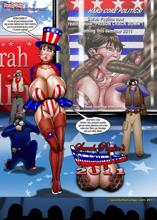 Sarah Palin porno Comics