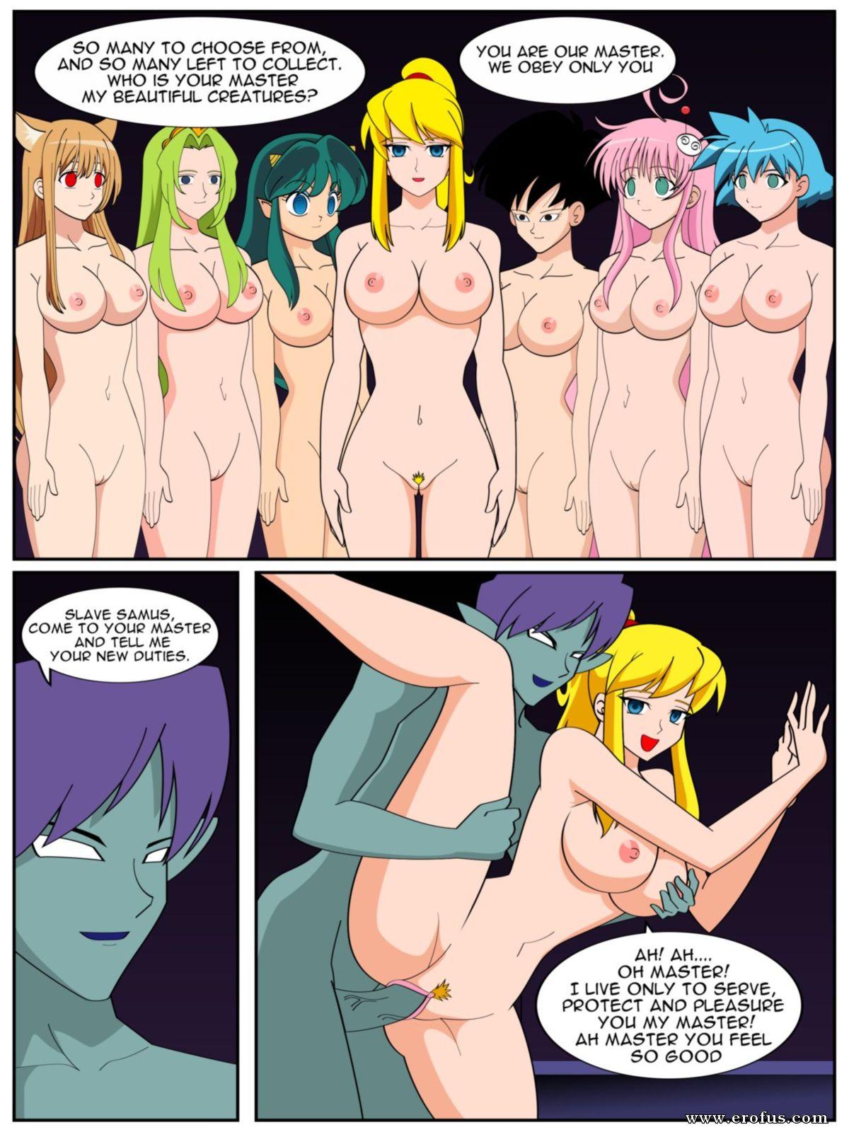Samus aran porn comic