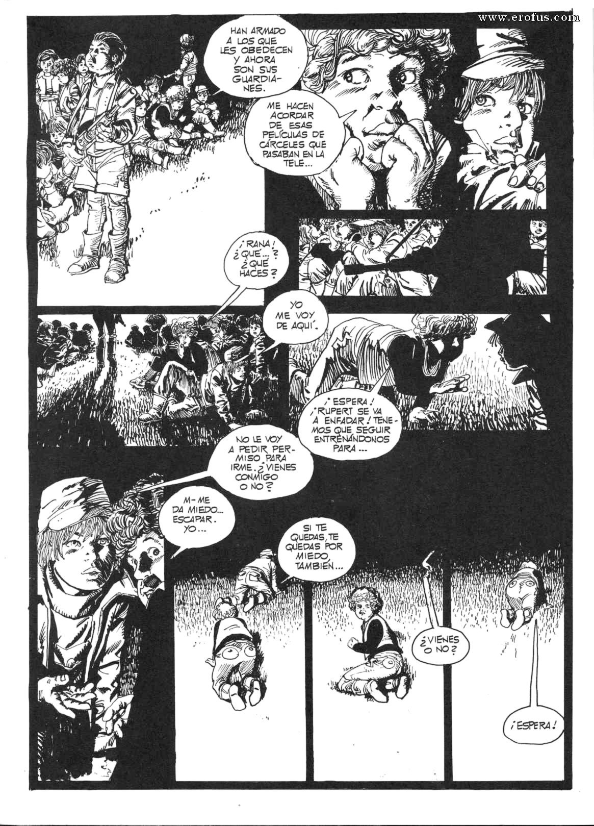 Carceles Porn page 53 | horacio-altuna-comics/el-ultimo-recreo/spanish