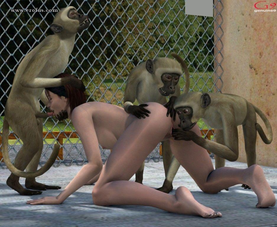 Monkey girls ki chudai pics