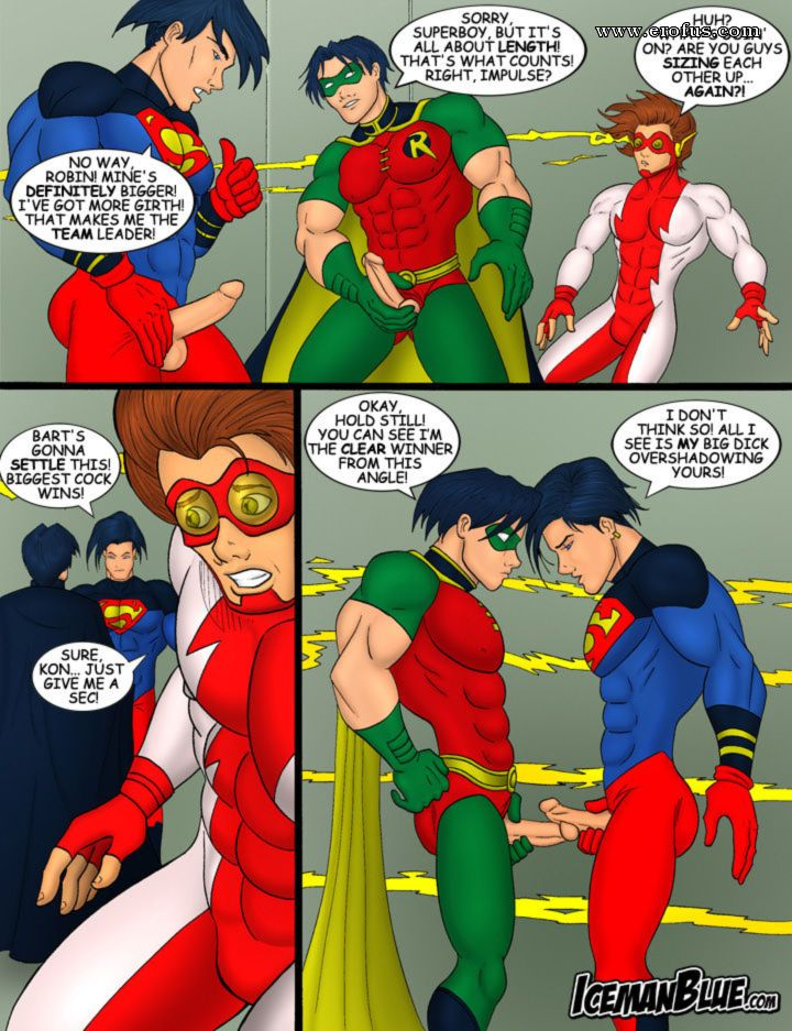Young justice porn comic