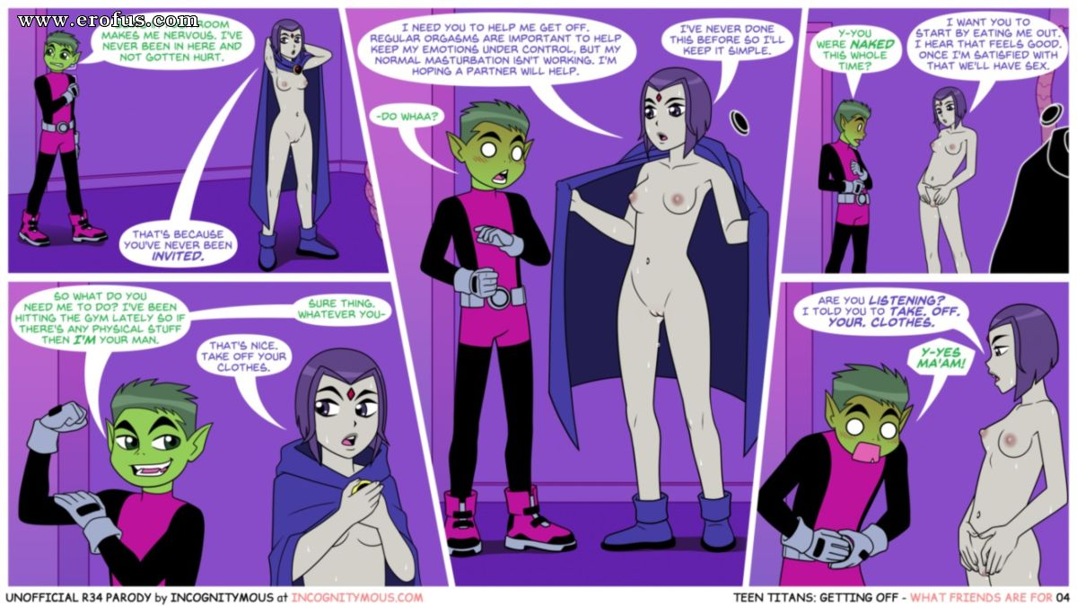 Teen titans have sex