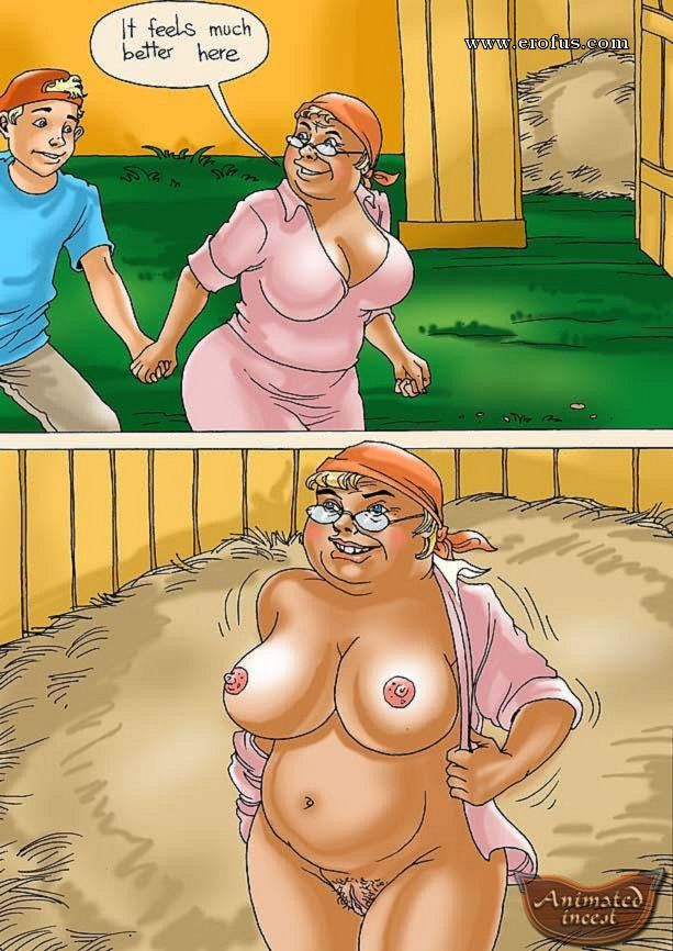 Granny Cartoon Porn Comics