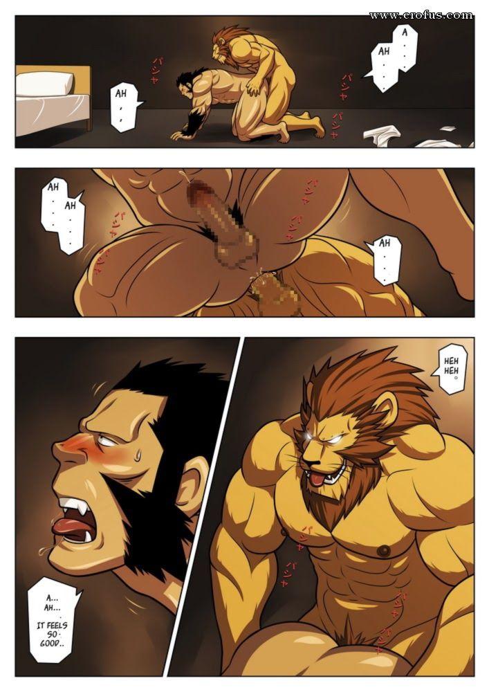 Картинки Комикс Звери Геи Порно