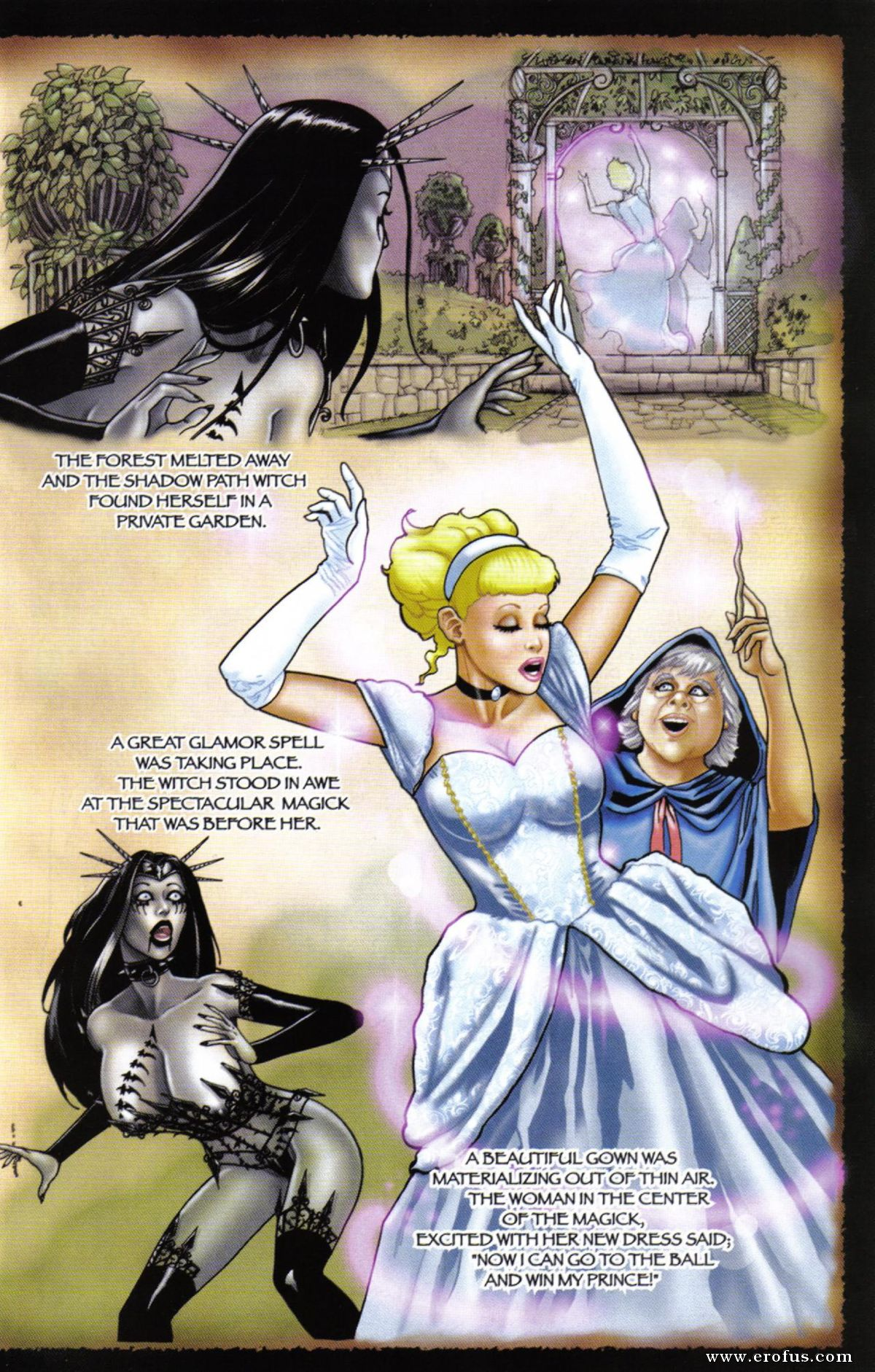 19 Black Porn page 19 | broadsword-comics/tarot-witch-of-the-black-rose