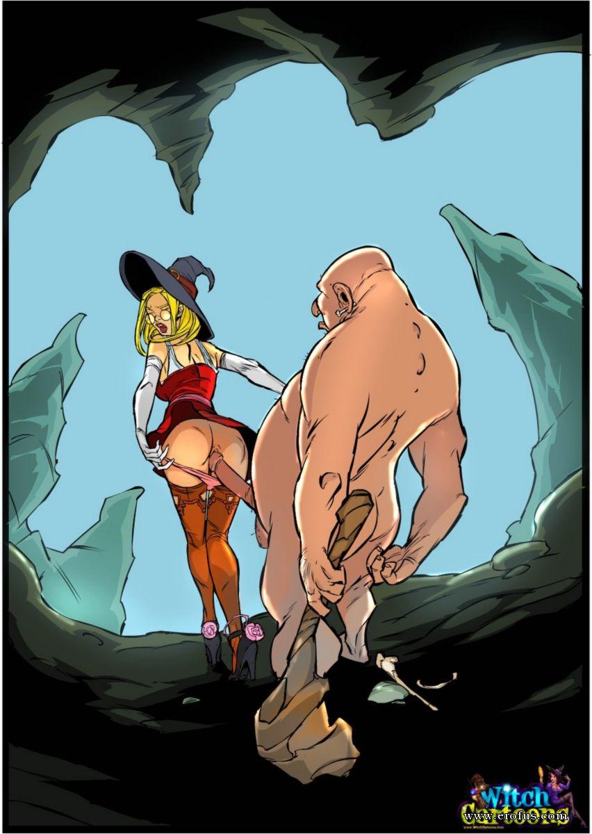 Жесткое ебля порно с ведьмою