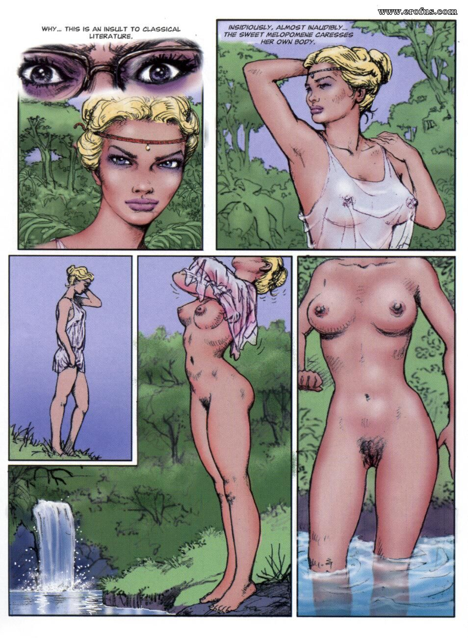 Nude lesbian comics