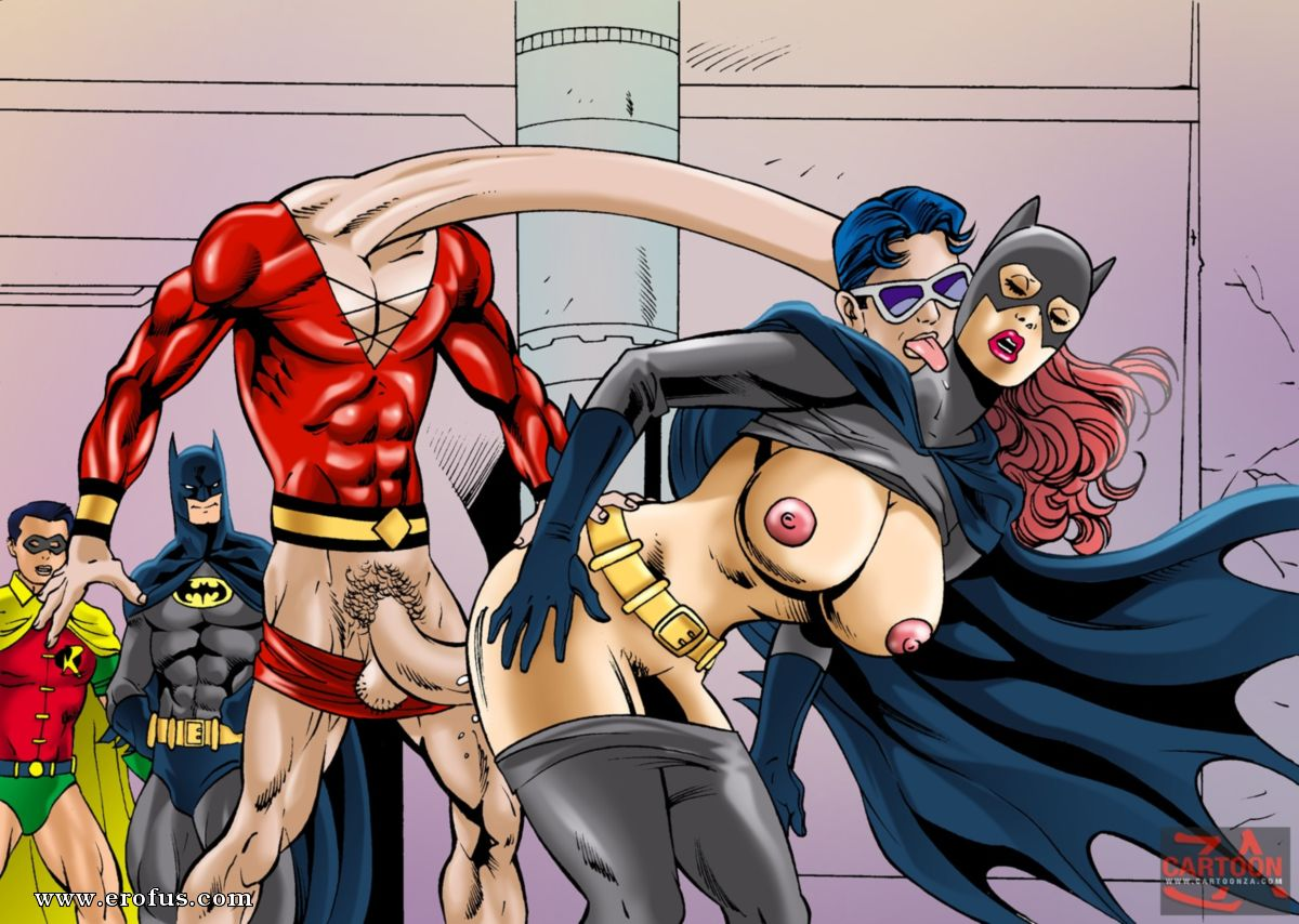 Batgirl interrupted sex comic