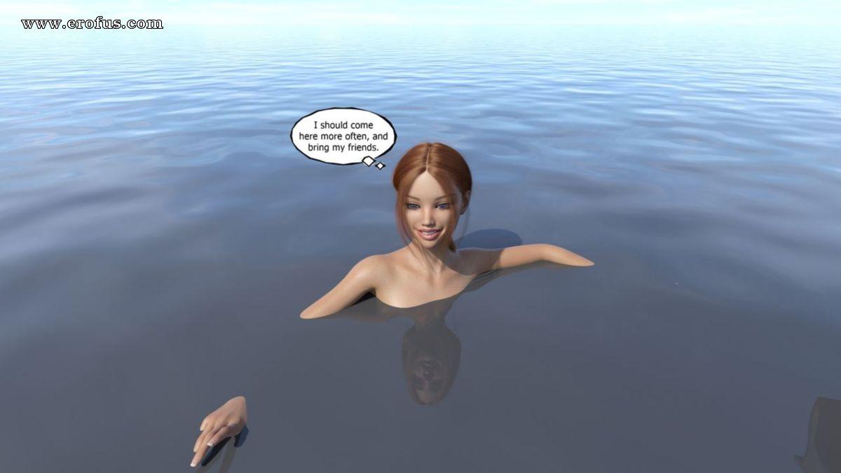Монстер с воды порно