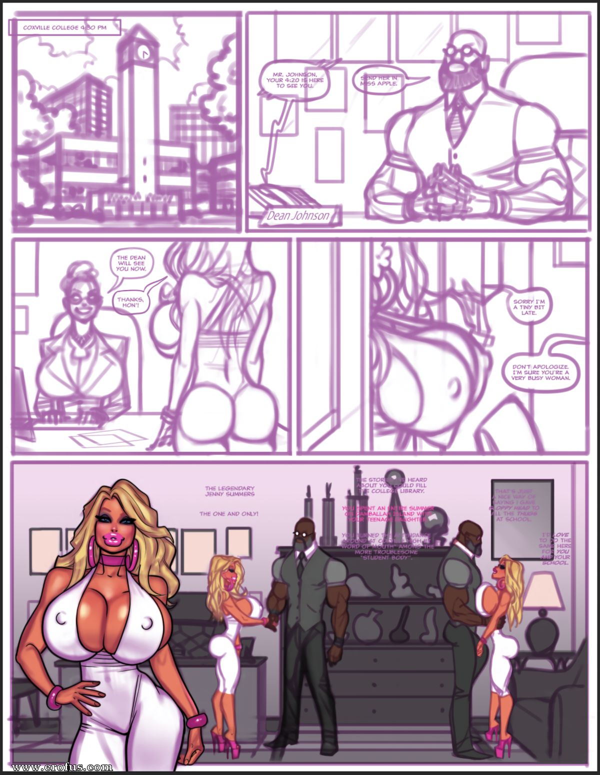 de pit Cartoon Porn