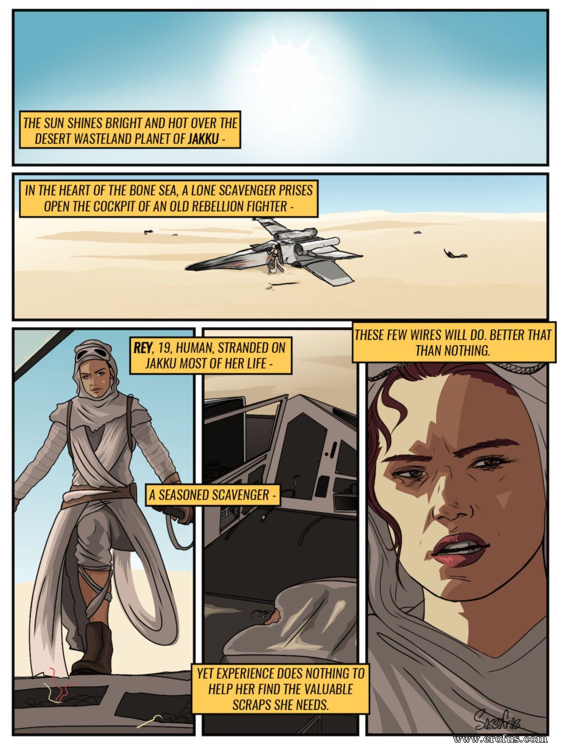 Star wars sex comic