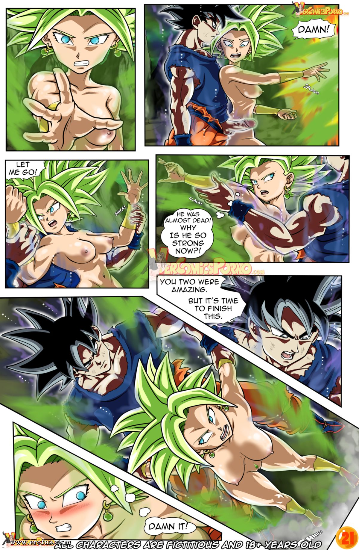 Dragon Ball Super Sex