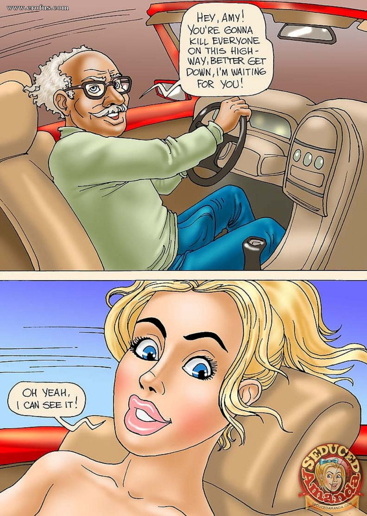 Amanda Porn Animation page 8 | seduced-amanda-comics/grandpa-and-his-new-ride