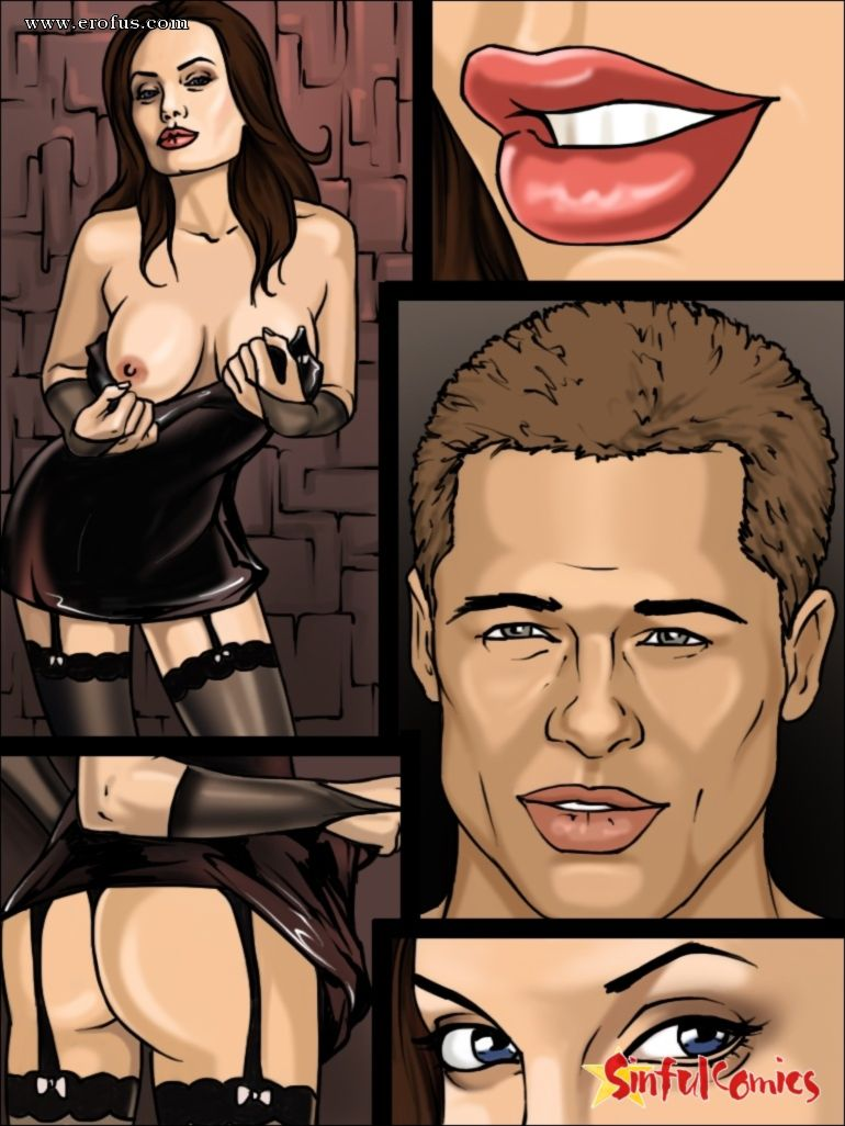 Angelina jolie sex comics