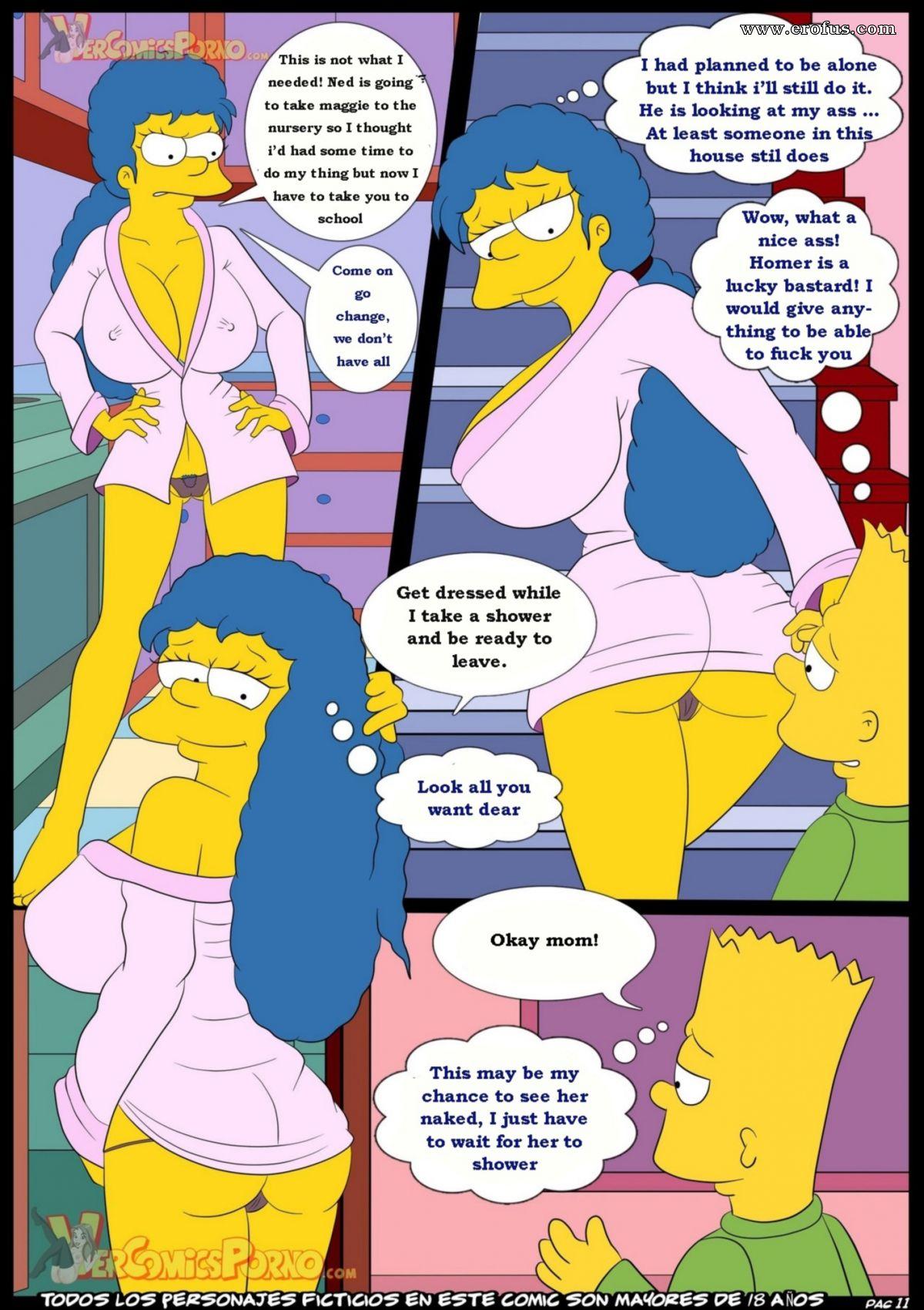 Simpsons porn cum
