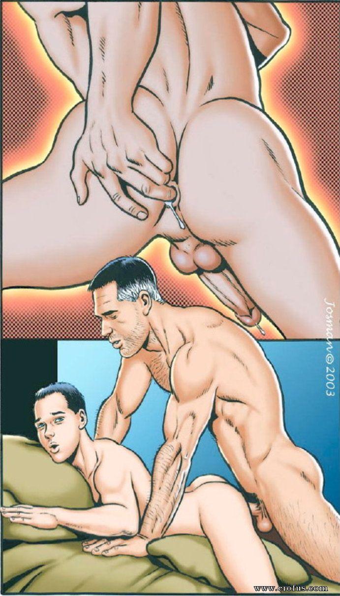 Гей Порно Комикс Стесняется
