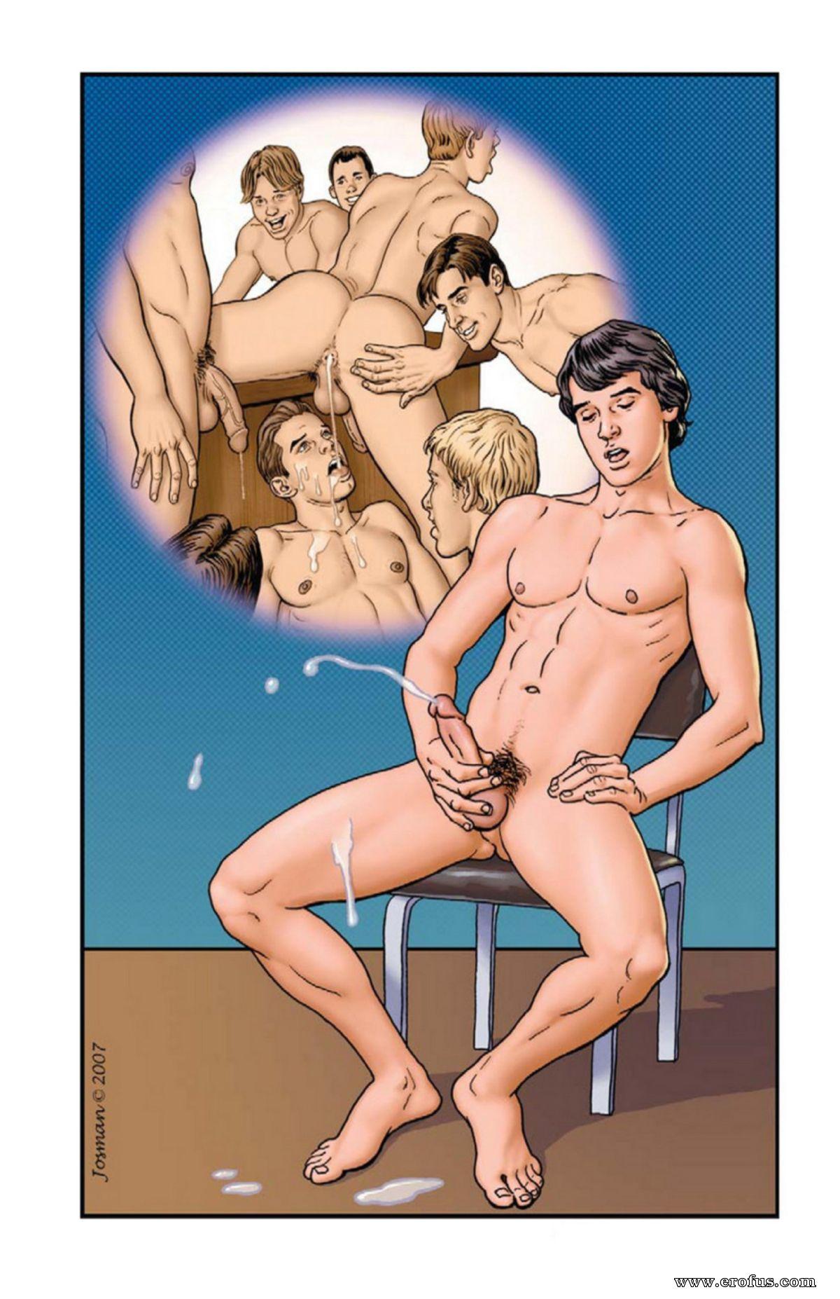 Порно Комиксы Геи И Лесби