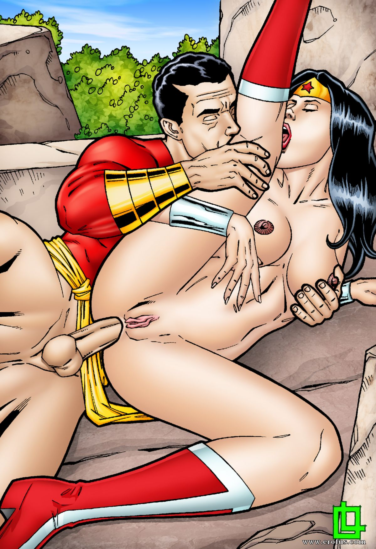 Wonder Woman Pron