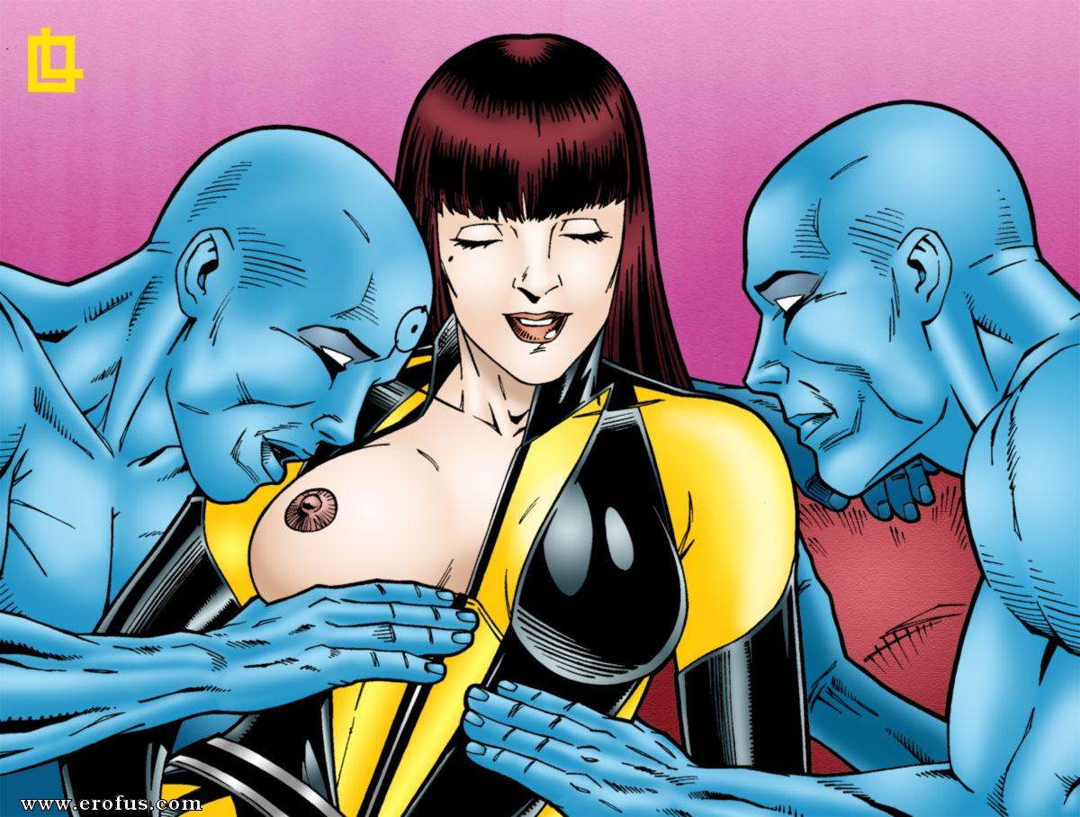 Silk spectre sex comictures