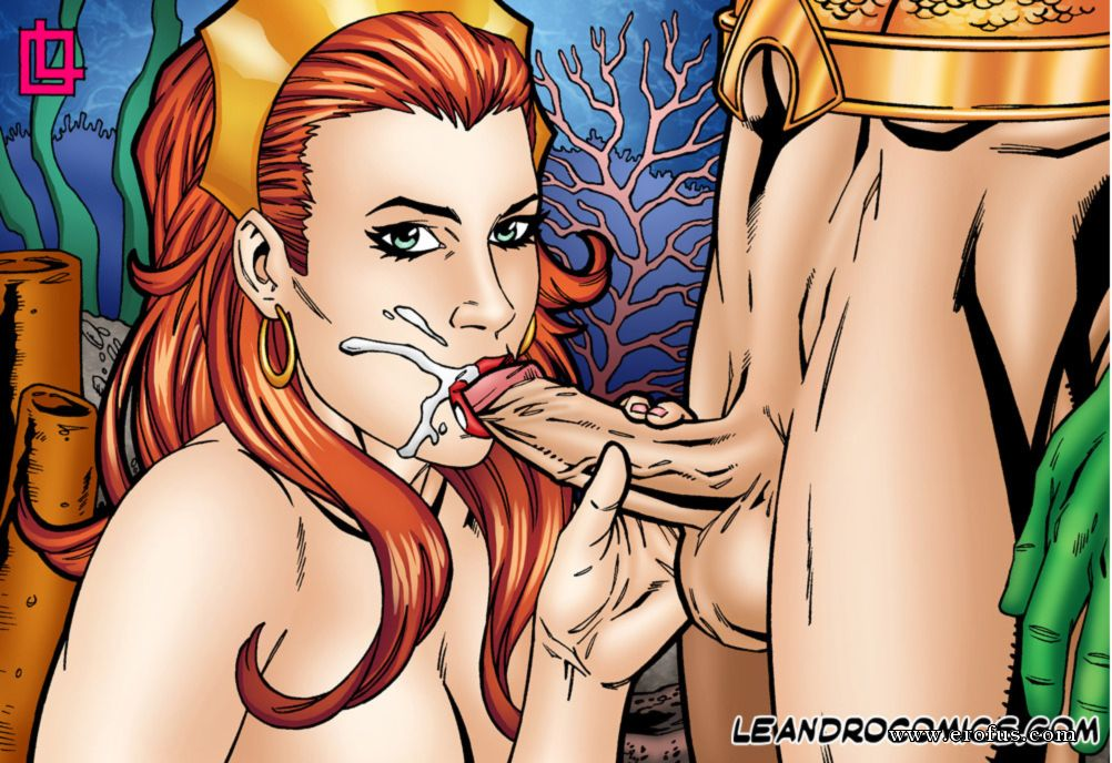 Laraloxley as mera shows us some undersea enchantment