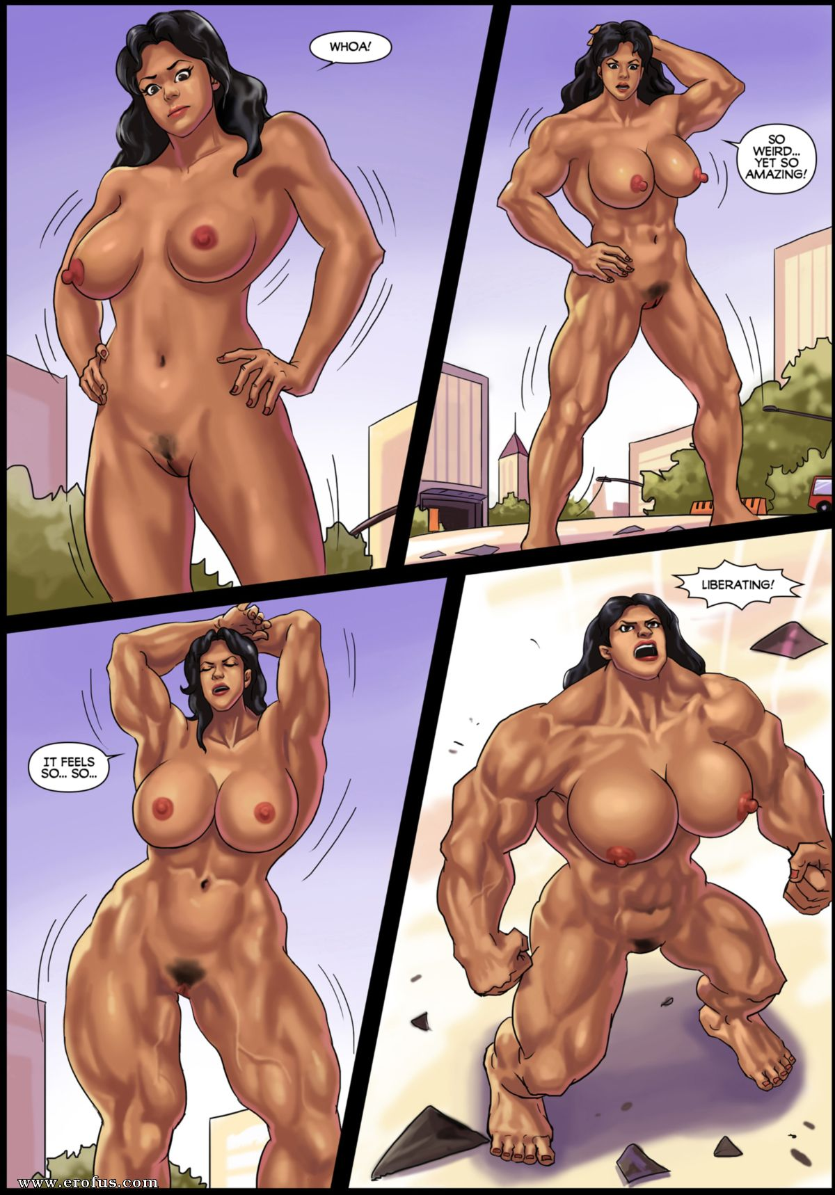 Comics with naked sexy girls