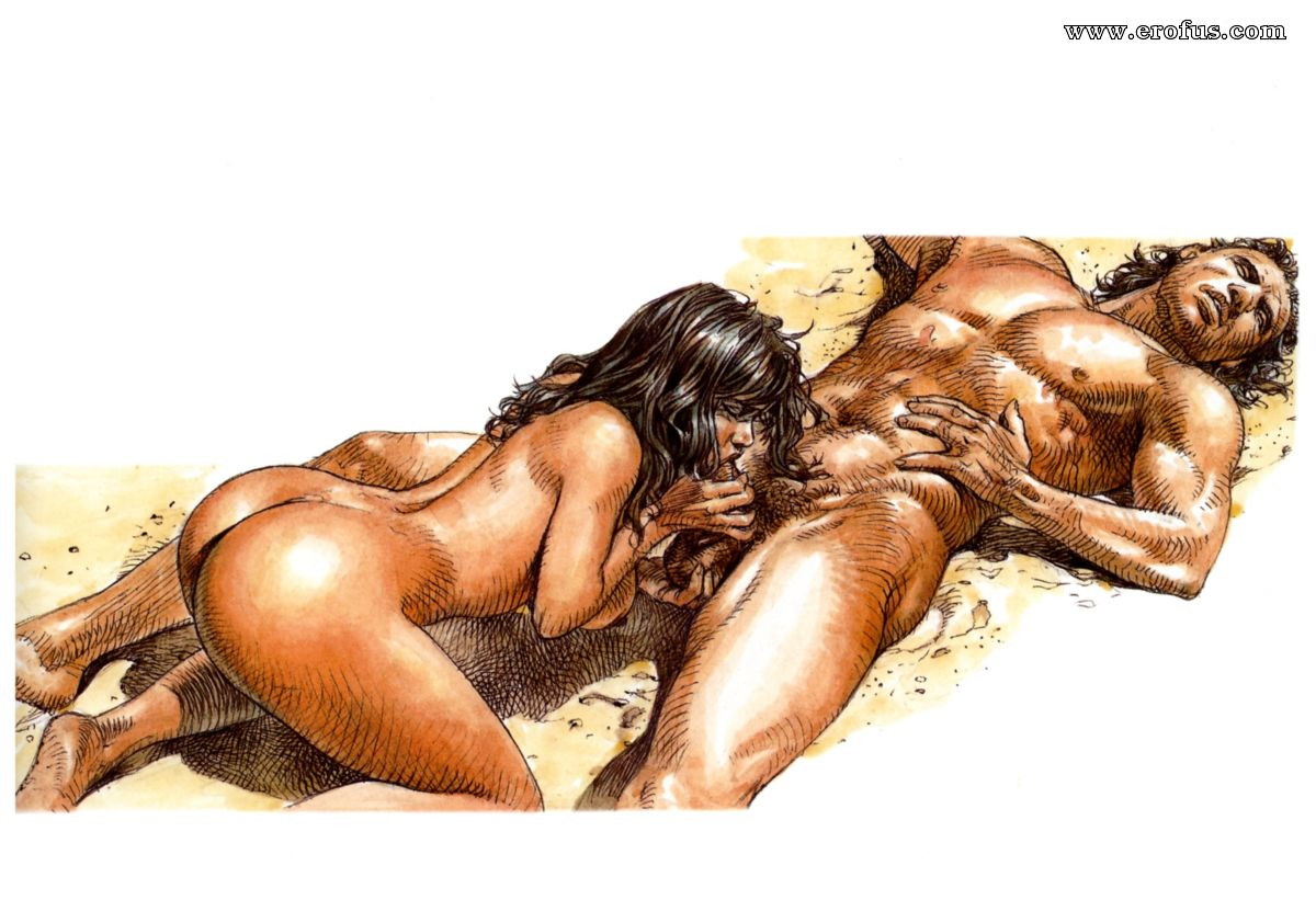 Fantasy art couple sex