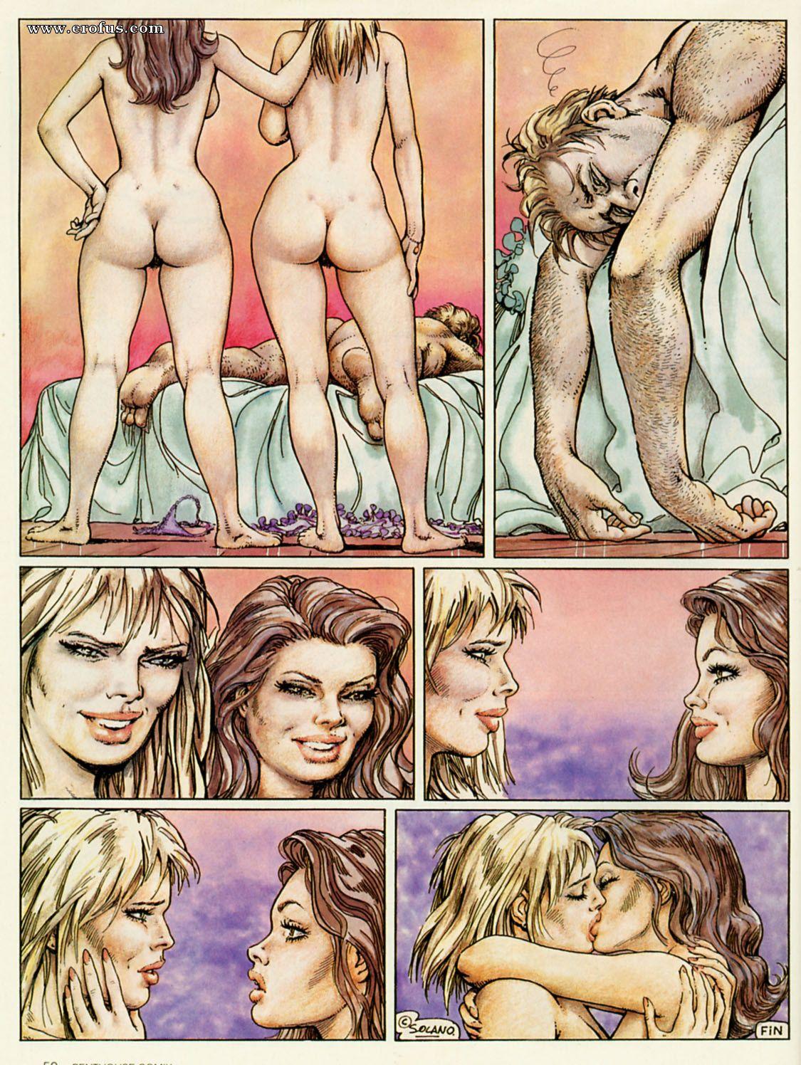 Erotic comics site