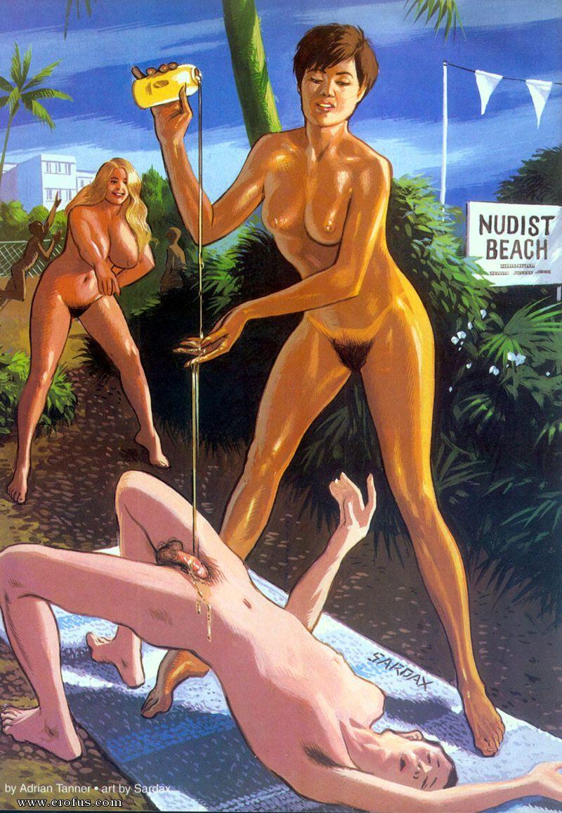 Beach sex comics