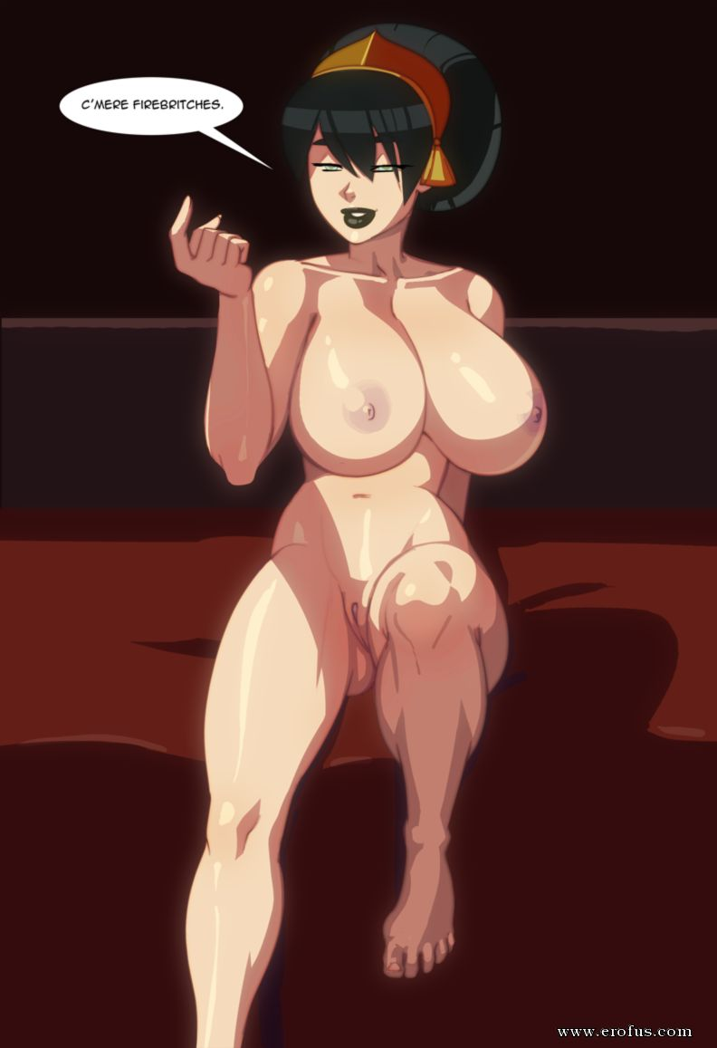 avatar the last airbender toph porno