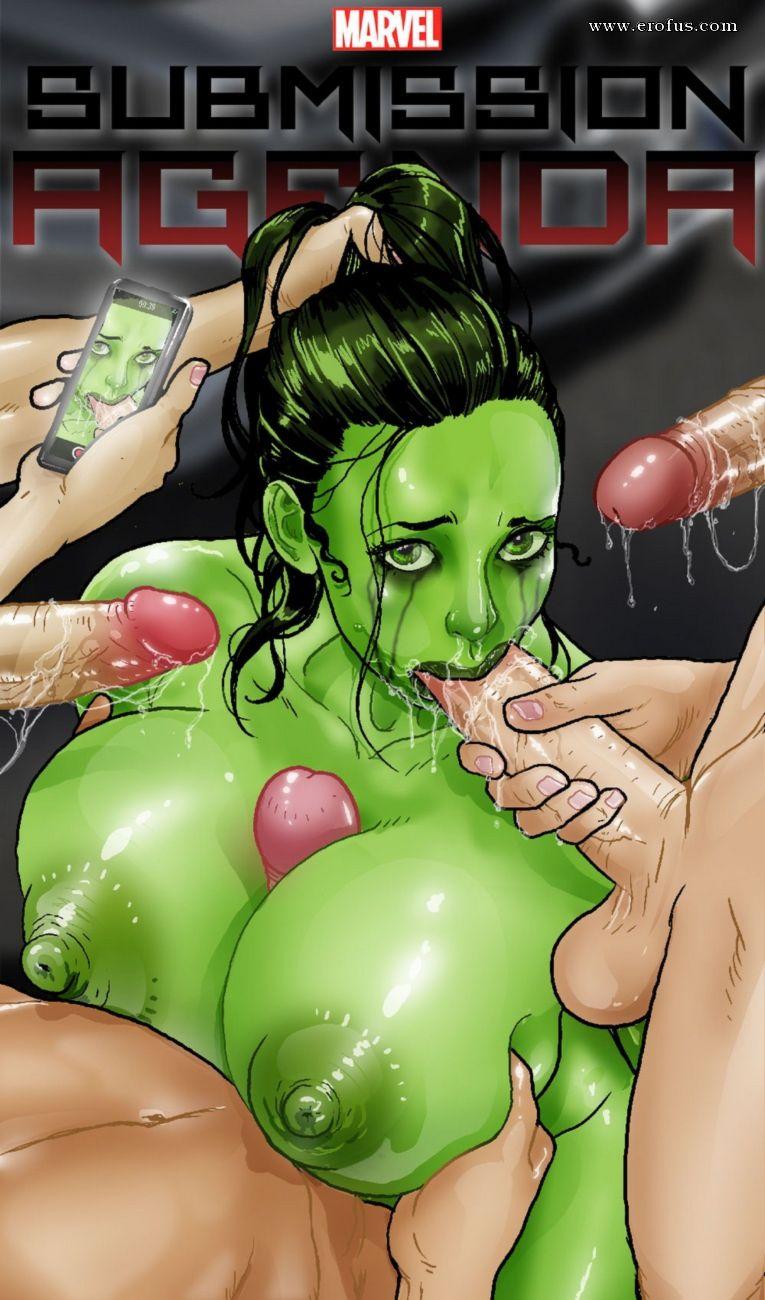 Hulk porn comics