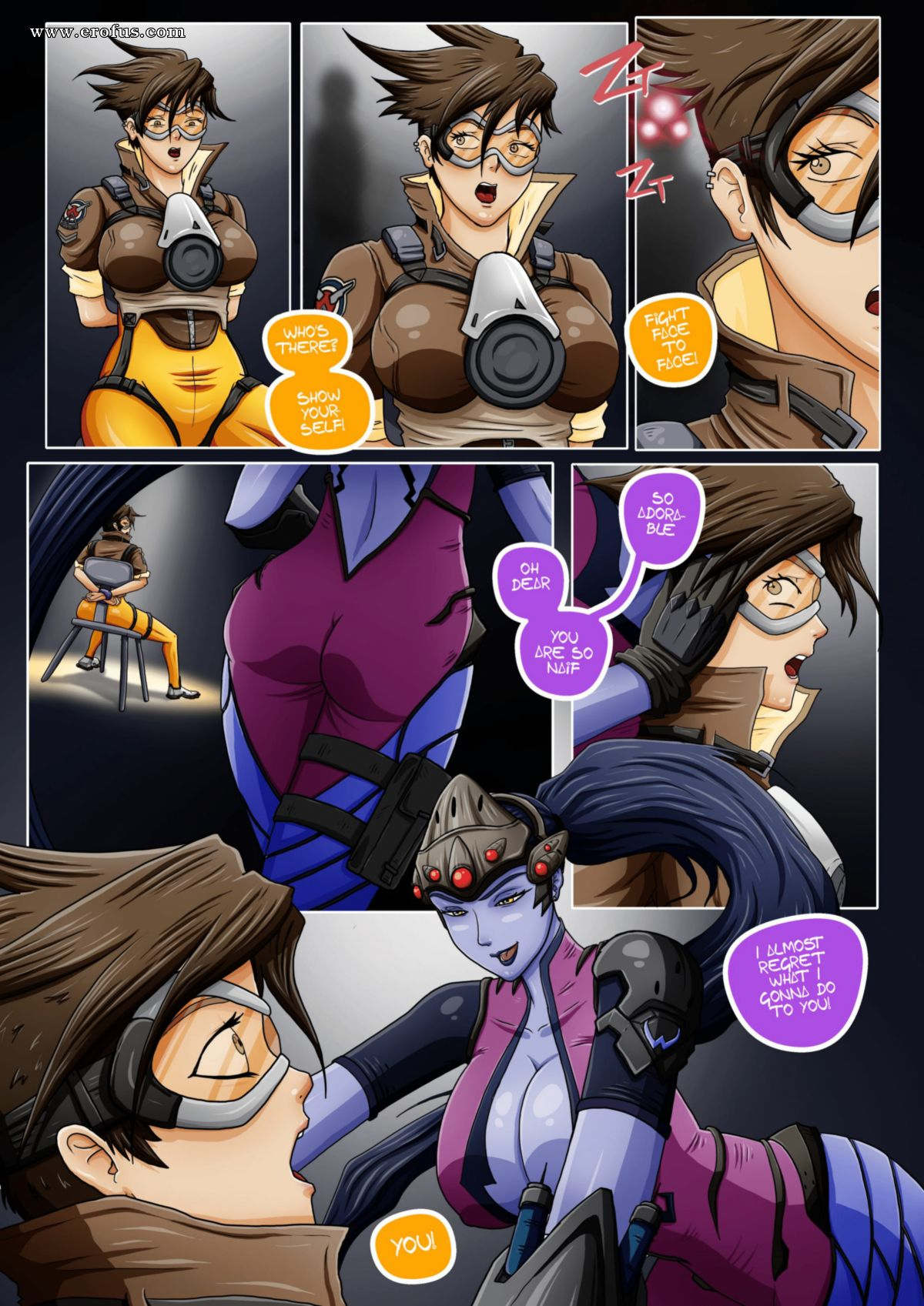 Overwatch Sex Comic
