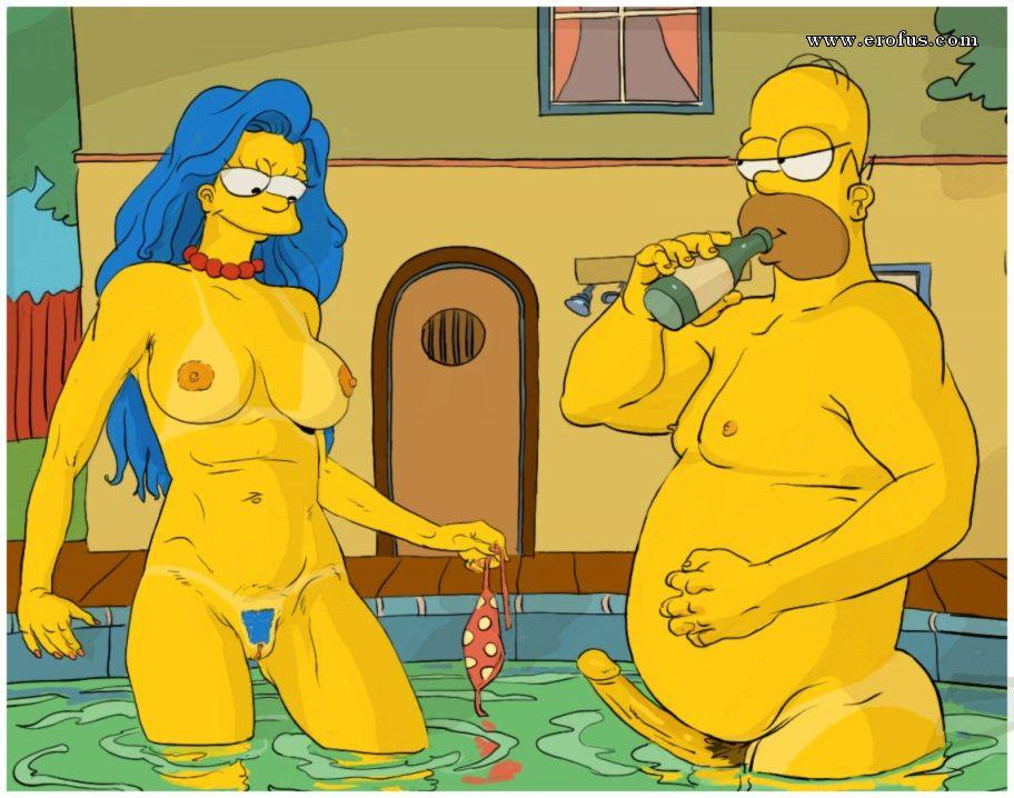 Marge Simpson Screws Ned Flanders