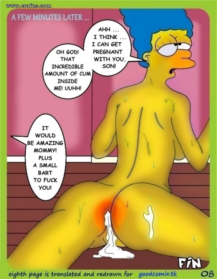 Bart simpsons sex comics